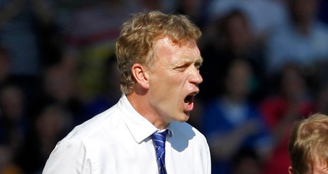 David Moyes: Desperate for Everton to get involved in continental competition again