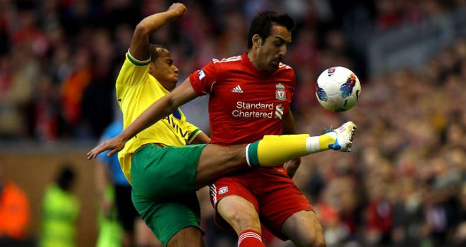 Jose Enrique: The Liverpool left-back could be in line for a call-up from Spain