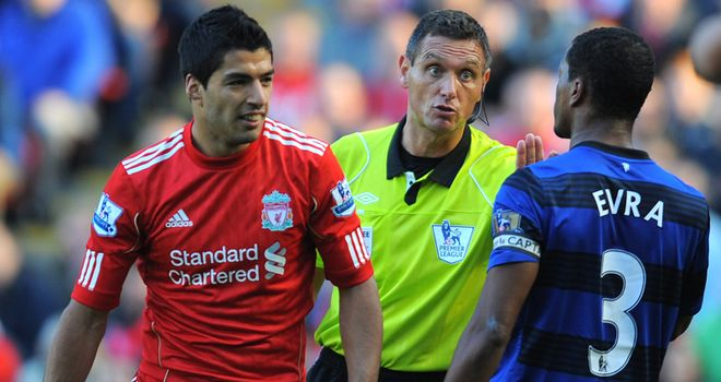 Luis Suarez: Served eight-match ban after clash with Evra