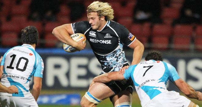 Richie Gray: heading to Aviva Premiership to play for Sale next season