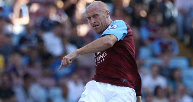 James Collins: Has pulled out of Gary Speed's last three Wales squads through injury