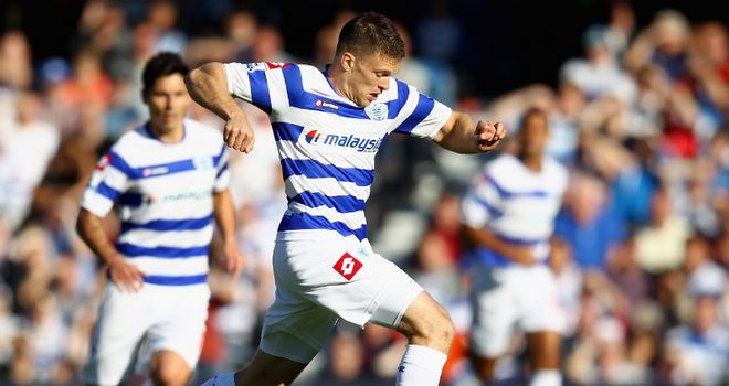 Jamie Mackie: Back in action with QPR after leg break and made his first start against Blackburn