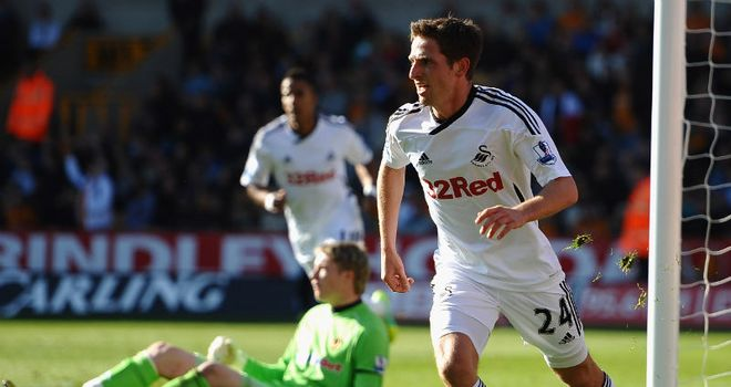 Joe Allen: Graduated from Swansea's youth academy and has now been capped six times for Wales