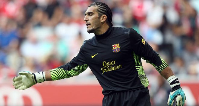 Jose Manuel Pinto: Signed a new deal to extend Barcelona career until June 2014