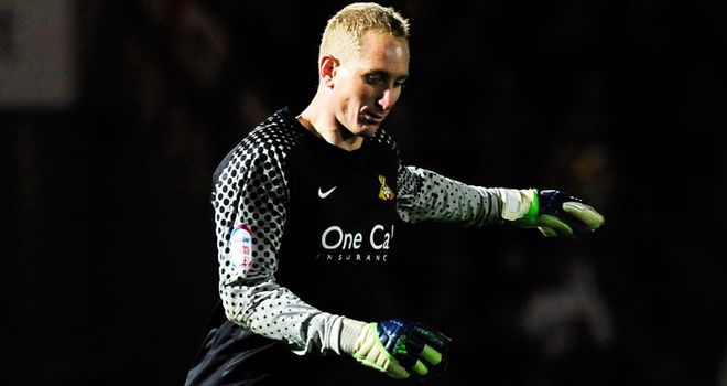 Chris Kirkland: Has returned from loan spell at Doncaster due to back injury