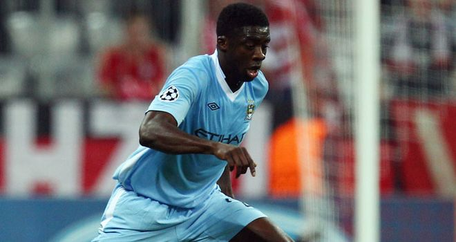 Kolo Toure: The Ivory Coast defender remains part of Roberto Mancini's plans at Manchester City