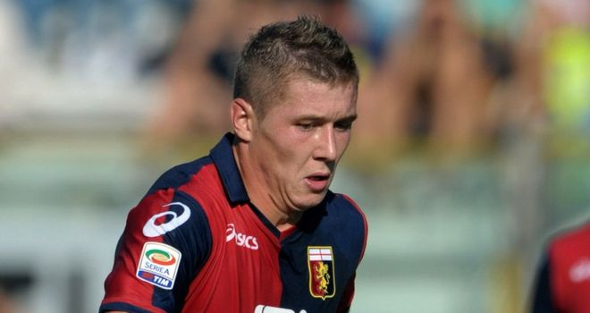 Juraj Kucka: Set to stay at Genoa, who now own 100 per cent of the player