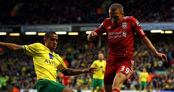 Kyle Naughton: The Norwich defender is loving life with the Canaries after joining on-loan from Tottenham