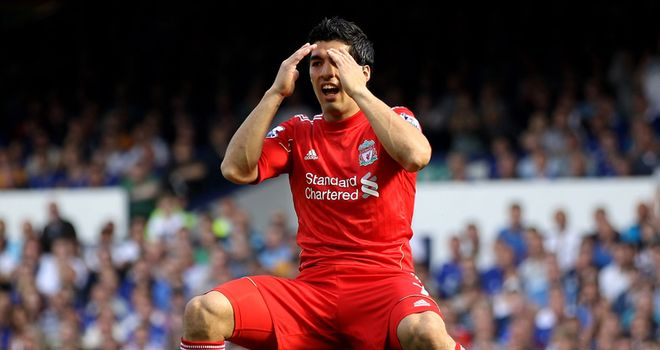 Luis Suarez: Liverpool striker handed an eight-match ban by the FA on Tuesday night