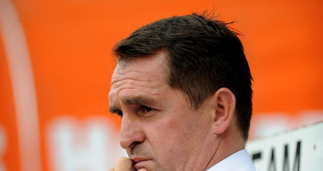 Martin Allen: Takes charge of the relegation-threatened Bees against Southend on Friday