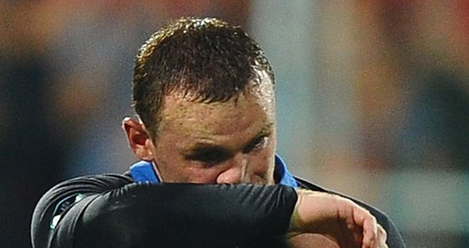 Wayne Rooney: Saw red during England's final Euro 2012 qualifier in Montenegro
