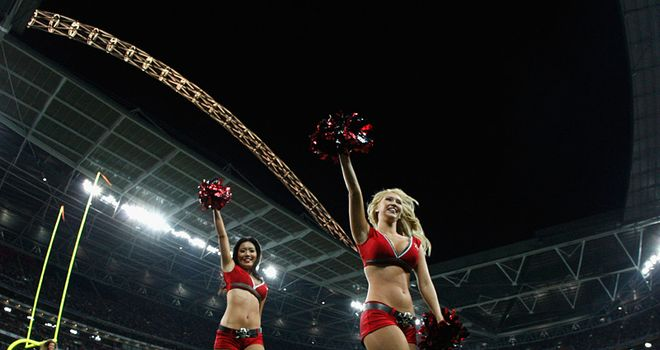 It's back: The NFL show rolls into London this weekend - but Simon says it isn't big news stateside