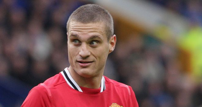 Nemanja Vidic: Manchester United defender has praised the way Sir Alex Ferguson gives his players confidence