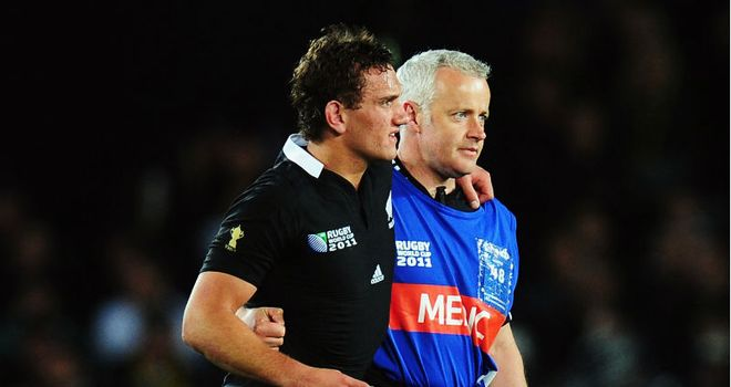 Cruden: Limped off against France