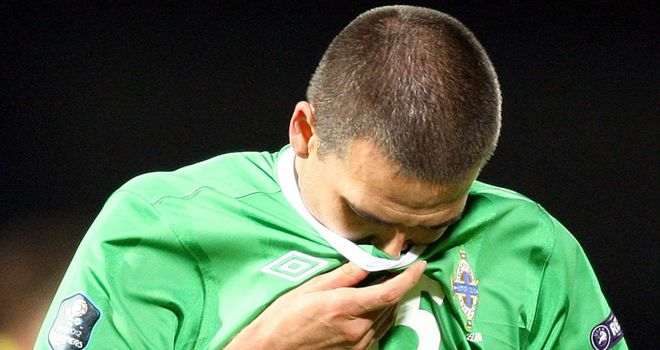 David Healy: Hoping to be given an opportunity to add to his 35 international goals