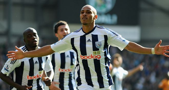 Peter Odemwingie: Pleased to have the backing of manager Roy Hodgson