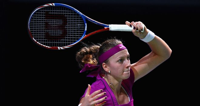 Petra Kvitova: Named WTA player of the year for 2011