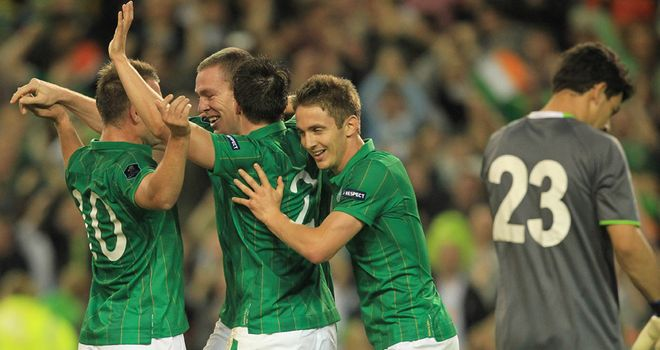 Republic of Ireland: two games away from qualification
