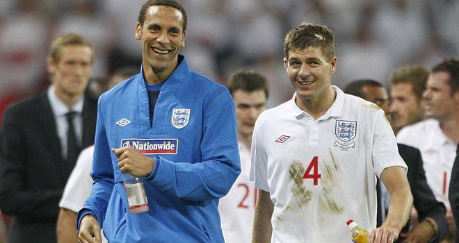 Steven Gerrard: Understands supporter frustration regarding Rio Ferdinand's absence