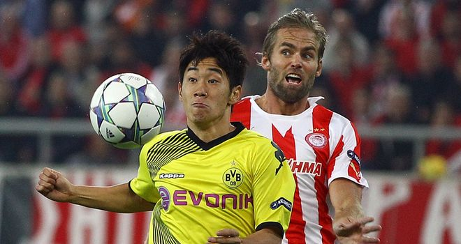 Shinji Kagawa: Scored the only goal as Borussia Dortmund beat Bayer Leverkusen at home