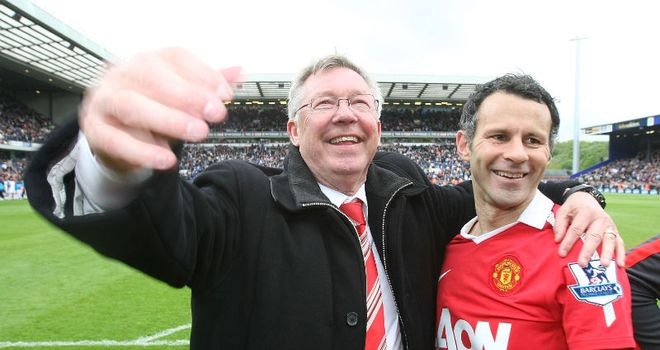 Alex Ferguson: Believes Ryan Giggs could probably play for another couple of years