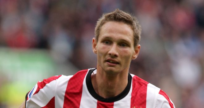 Tim Matavz: Scored twice for PSV Eindhoven in KNVB-Beker victory
