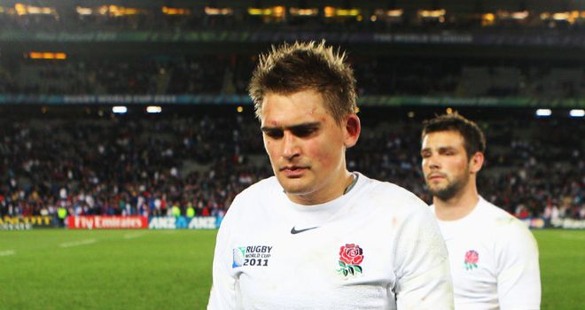 Toby Flood: Despondent after quarter-final loss to France