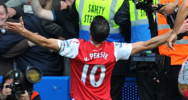 Robin van Persie: Has netted 28 times in 27 Premier League outings this year