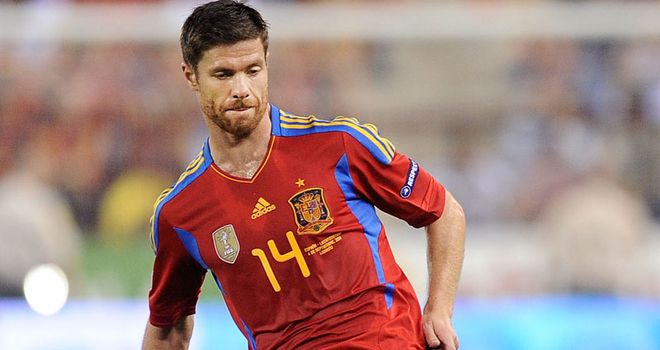 Xabi Alonso: Insists Spain have no intention of altering their style