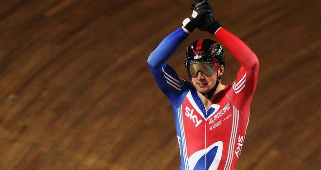 Matt Crampton: Will look to use all his knowledge to dethrone Sir Chris Hoy in the keirin