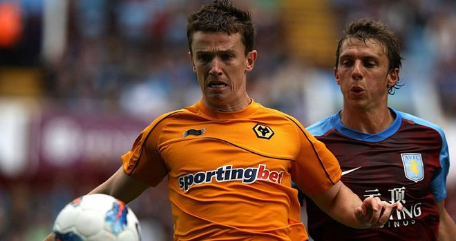 Kevin Foley: This appearance against Aston Villa at the end of August was the last time he played for Wolves