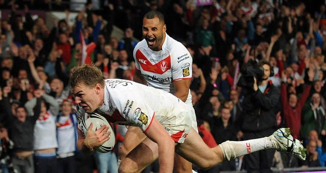 Michael Shenton: halfway through a three-year deal at St Helens