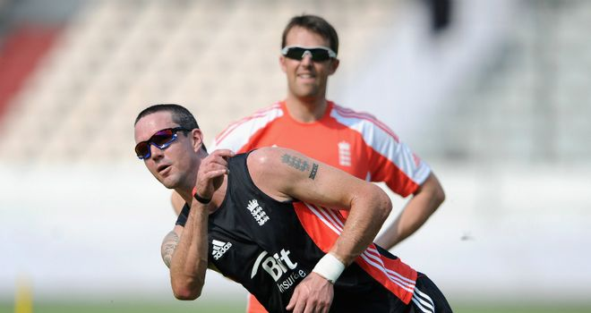 Swann (background) said Pietersen was a bad choice as captain
