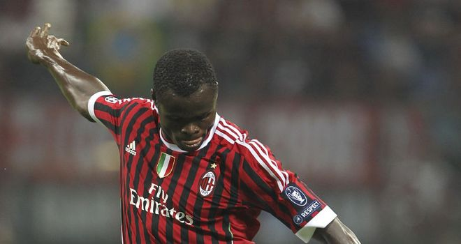 Taye Taiwo: Delighted to have joined Milan and hopes to stay for many years