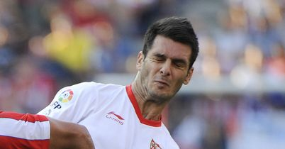 Emir Spahic: Sevilla defender set for Anzhi Makhachkala loan move