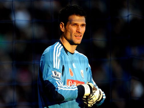 Asmir Begovic: 'Room to grow'