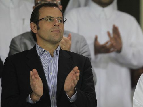 Sandro Rosell: Revealed City's 'fishing'