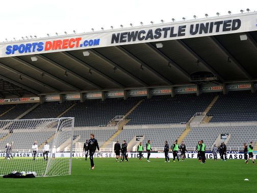 Newcastle: Entered deal with Wonga last week