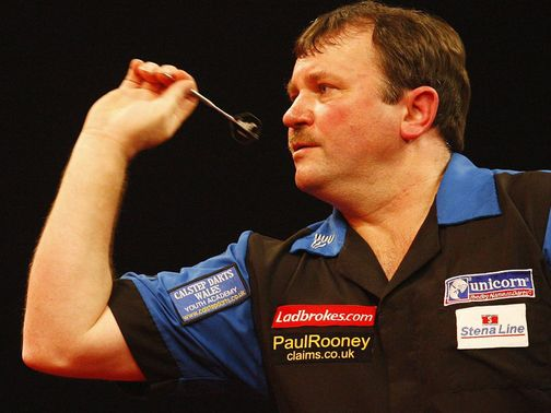 Terry Jenkins: Looking for glory at Ally Pally