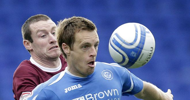 Alan Maybury: The former St Johnstone defender has played in a friendly for Hibernian
