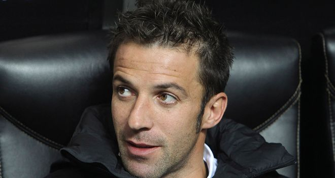Alessandro Del Piero: Set to leave Old Lady in the summer