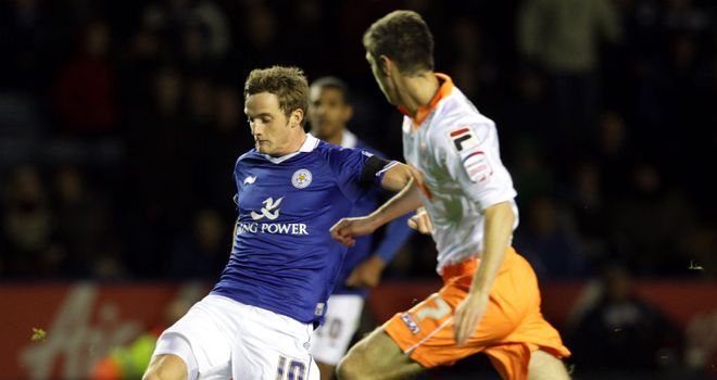 Andy King: Dedicating his goal against Blackpool to the memory of former Wales boss Gary Speed