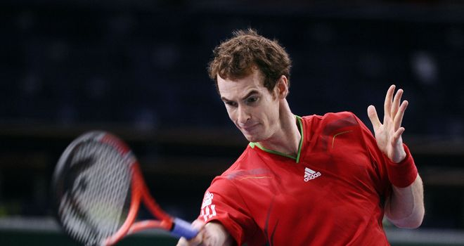 Andy Murray: Remains on course for fourth consecutive ATP title
