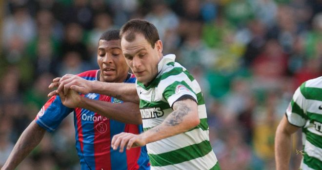 Anthony Stokes: Admits Celtic cannot afford anymore slip-ups in the SPL title race