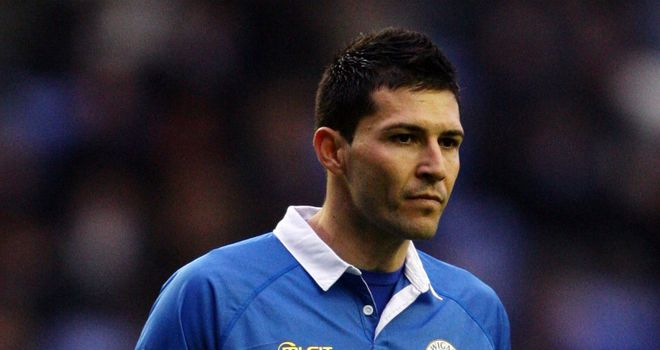 Antolin Alcaraz: Available again for Wigan after serving three-game ban