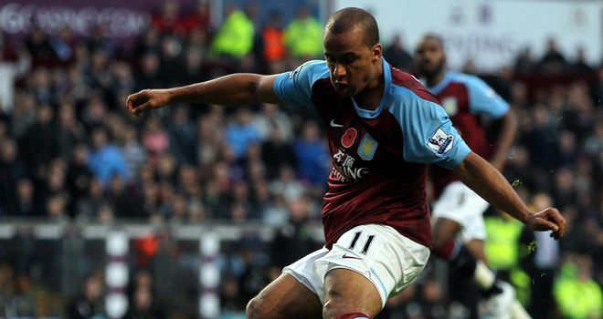 Gabriel Agbonlahor: Aston Villa striker becoming more of an all-round attacking threat
