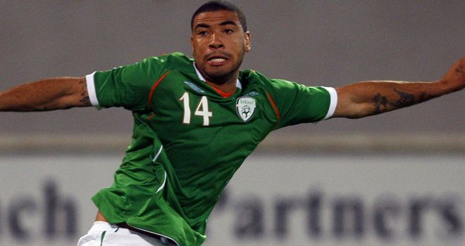 Leon Best: Set to miss the Republic of Ireland's crucial Euro 2012 play-off games