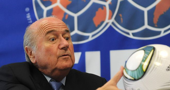 Sepp Blatter: Has been widely condemned but has no intention of stepping down from his post