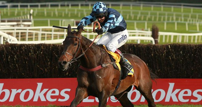 Captain Chris: A ready winner at Ascot
