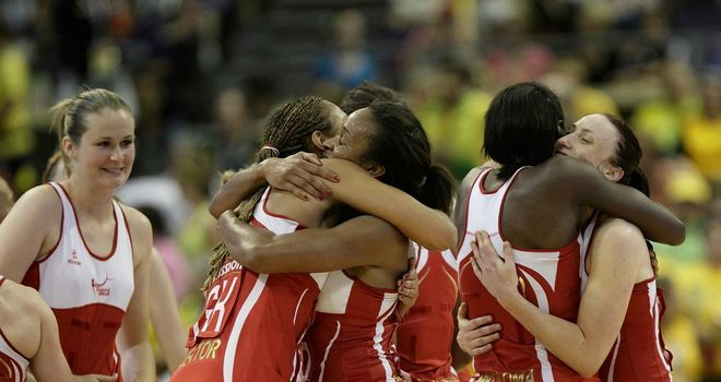 England have been crowned as World Netball Series champions